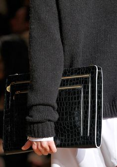 wow this is awesome clutch  Stella McCartney fall 2012