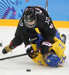 Chiho Osawa#12 Japan women's Hockey team