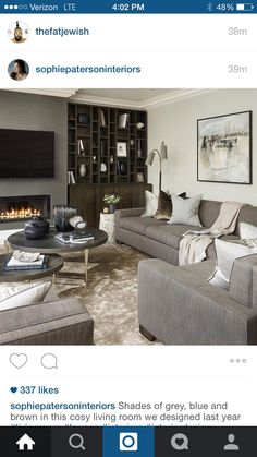Living Room Decor Cozy, Shades Of Grey, Cosy, Lounge, Interior, Furniture, Design, Home Decor, Airport Lounge