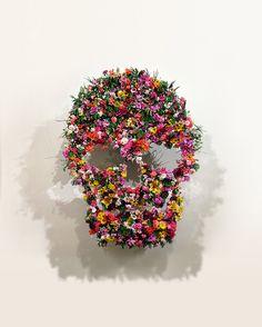 calavera-de-flores.jpg (401×500)