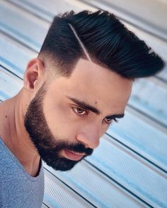 18 Best Low Fade Comb Over Haircuts in 2020 Low Fade Comb Over, Long Comb Over, Fade Up, Thick Curly Hair, Curly Hair Styles, Natural Hair Styles, Classic Hairstyles, Latest Hairstyles, Medium Skin Fade