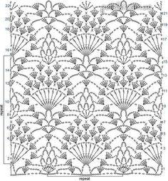 Delicadezas en crochet Gabriela: Modelo de punto piña patrón