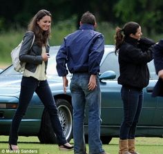 Kate Middleton joins Prince William and the rest of the Royal Rat Pack for a weekend of polo | Mail Online