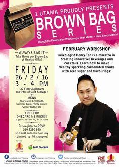 26 Feb 2016: 1 Utama Shopping Centre Brown Bag Series