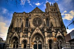 St. John the Divine located on Amsterdam at  W110th St. I try to walk by it every chance I get. It makes me feel like I'm living in Europe