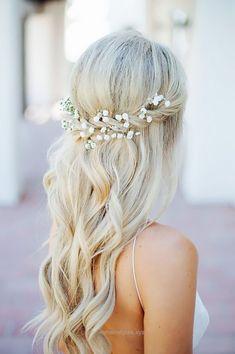 Terrific Half Up Half Down Wedding Hairstyles Ideas ❤️ See more: www.weddingforwar… #weddings The post Half Up Half Down Wedding Hairstyles Ideas ❤️ See more: www.weddingforwar…… appeared fir ..