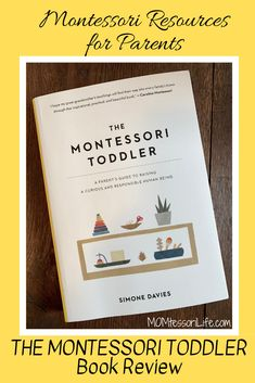 Montessori Resources for Parents: The Montessori Montessori Books, Montessori Toddler, Montessori Activities, Infant Activities, Educational Activities, Toddler Classroom, Toddler Books, Baby Education, Parent Resources