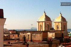 bell tower of the church of S.Ciro from the roof garden
