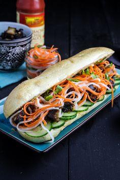 Pork Belly Bánh Mì (recipe) / by Katie at the Kitchen Door