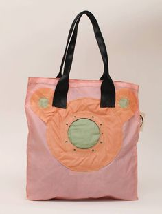1332AT Recycled Airbag Shopper roze