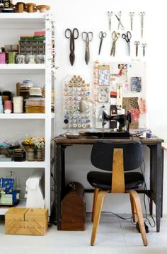 Sewing space. Dream