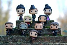 They luck amazing in this vinyl form! Ouat, Once Upon A Time Funny, Once Up A Time, Funko Pop Display, Tv Show Casting, Funk Pop, Pop Toys, Pop Collection, Pop Vinyl Figures