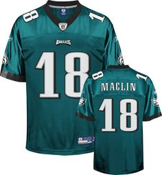 5627087cf ... Nike Eagles 18 Jeremy Maclin Nike Game Jersey Home Alternate NFL Jersey  Philadelphia Eagles Jerseys Pinterest ...