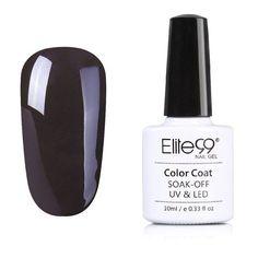 Elite99 Coffee Brown Color Series Gel Nail Polish