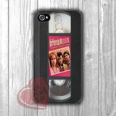Pretty in Pink VHS retro - zzd for iPhone 4/4S/5/5S/5C/6/6+s,Samsung S3/S4/S5/S6 Regular/S6 Edge,Samsung Note 3/4