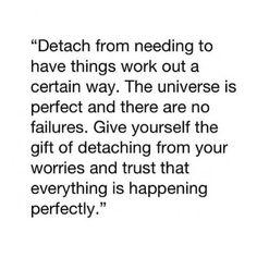 Detach.
