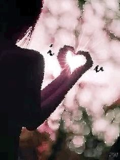 My heart is in your hands! I Love Heart, Happy Heart, Peace And Love, Gif Animé, Animated Gif, Heart In Nature, Image Beautiful, Les Gifs, Heart Gif