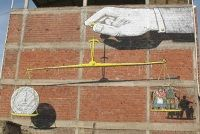Escif + Hyuro, Return to The Lost Forest, Spain - unurth   street art