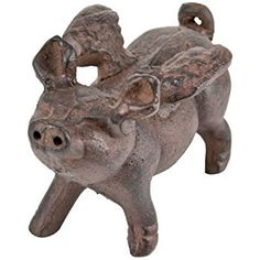 Amazon.com : Whimsical Cast Iron Flying Pig Statue : Outdoor ... Amazon.com350 × 350Search by image This item Whimsical Cast Iron Flying Pig Statue