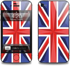 London Flag iPhone Skin (by Tie A Tie)