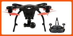 Ehang GHOSTDRONE 2.0 VR, Android Compatible, Black/Orange - Photo stuff (*Amazon Partner-Link)