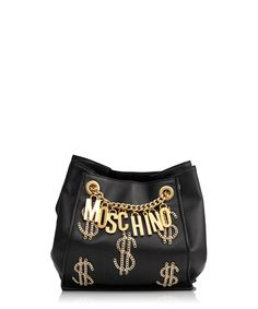 005eea4249b4 Flash the cash with our Moschino bag edit... Moschino Bag, Black Leather