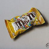 A bag of M&Ms - drawing