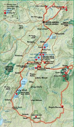 Map of Ethiopia and Ethiopian Political Map | Maps ...