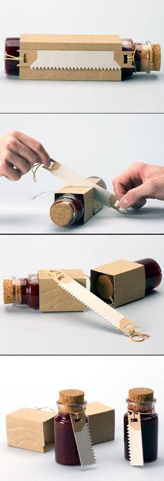 Hoe kan je een verpakking tot een verbazing maken :o)