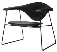 GUBI // Masculo Lounge chair by GamFratesi