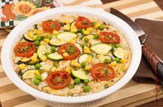 Verdure in forno con ricotta