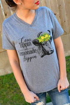 Cow Tippin' Tee