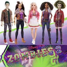 Zombie Barbie, Zombie Dolls, Zombie Disney, Zombie 2, Disney Birthday, 9th Birthday, Dream Doll, Disney Descendants, Disney Dolls