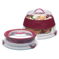 Shop Collapsible Cupcake Carrier at CHEFS.  I have to get this!  At CHEFS Catalog.