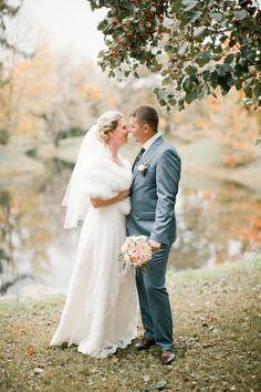 autumn bride and groom / Anastasiya Belik Photography