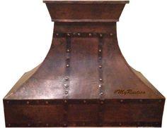 stove copper range hood   #mycustommade