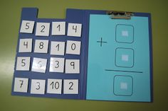 great idea for math practice Educational Activities For Kids, Autism Activities, Kids Learning, Math Addition, Addition And Subtraction, Math Meeting, Act Math, Math Practices, Basic Math
