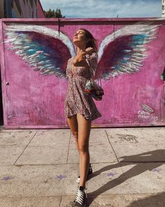 LA - the City of Angels but definitely also devils. Thank you for all the sweet messages regarding our robbery. As sad as I am that the… Real Angels, City Of Angels, Angel Wings Art, Wing Wall, Model Poses Photography, Sweet Messages, Instagram Feed, Nyc, Pictures