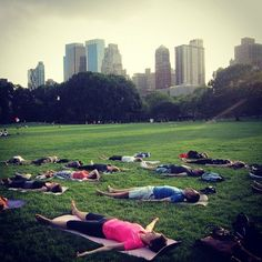 Central Park New York relax.....