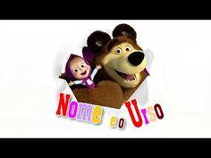 Modelo 03 - Convite Animado Masha e o Urso - YouTube