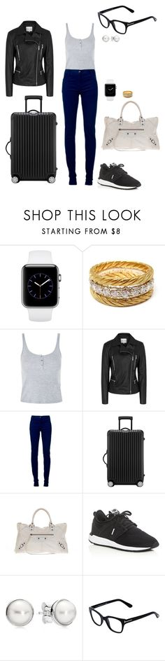 """Sem título #2137"" by analuli on Polyvore featuring moda, Buccellati, Topshop, Reiss, Ann Demeulemeester, Rimowa, Balenciaga, New Balance, Pandora e Tom Ford"