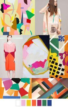 Farbpalette des Klaren Farbtyps! Kerstin Tomancok / Farb-, Typ-, Stil & Imageberatung