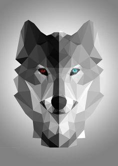wolf minimalist - Google zoeken