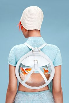 As the summer is upon as all, often much of us are itching to be closer to the sea, something that Not Just A Label's latest contemporary designer could most definitely help you with. The most recent collection by Central Saint Martin graduate Cassandra Verity Green is one that will keep your imagination swimming.