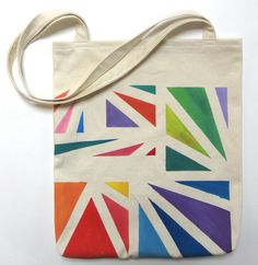 Check out our hand painted tote selection for the very best in unique or custom, handmade pieces from our totes shops. Sacs Tote Bags, Diy Tote Bag, Reusable Shopping Bags, Reusable Bags, Painted Canvas Bags, Diy Couture, Jute Bags, Fabric Bags, Cotton Bag
