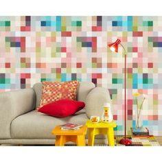 O Adesivo Papel de parede Piunti  é uma ótima opção para quem quer mudar a decoração sem dificuldades.