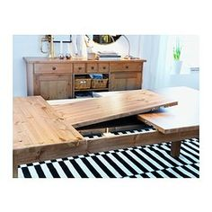STORNÄS Ruokapöytä, jatkettava - antiikkipetsattu - IKEA. Funderar på att skaffa detta bord till vår blivande matsal.