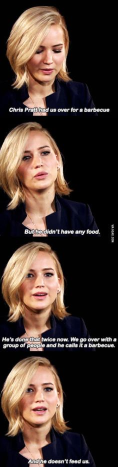 You shouldn't have to go hungry when you quit sugar. If you're feeling hungry, it means you're not doing it right. – I Quit Sugar Chris Pratt Funny, Ex Funny, Funny Posts, Funny Stuff, Funny Cute, Funny Memes, Hilarious, Random Stuff, Jennifer Lawrence Quotes Funny