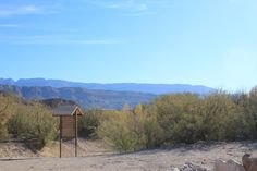 View from back of Boquillas Port of Entry building, along the trail heading to Mexico (photo by Courtney Lyons-Garcia)