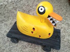 Nightmare Before Christmas Undead / Bullet Hole Duck Scary Toy Tutorial